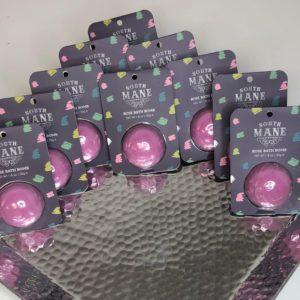 10 Rose Bath Bombs