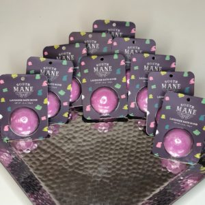 10 Lavender Bath Bombs
